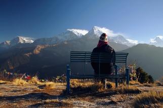 Poon Hill (3210 m n.p.m.), Nepal