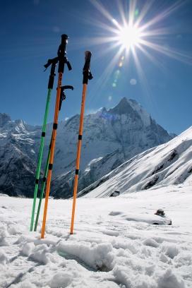 Annapurna Base Camp (4130 m n.p.m.), Nepal