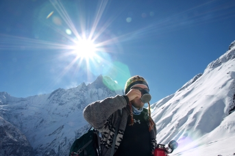Annapurna Base Camp (4130 m n.p.m.), Nepal