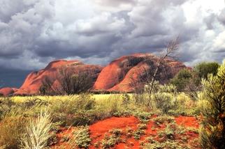 Kata Tjuta, Terytorium Północne, Australia